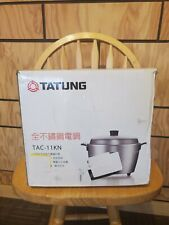 Brand New TAC-11kn Tatung 11 Cup Multi Functional Stainless Steel Rice Cooker