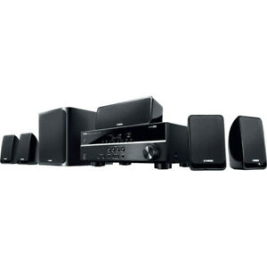 YHT1840B 5.1 Ch Home Theatre Pack Yamaha 5.1 Channel Surround Sound 5.1 CH HOME