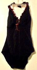Cazimi Womens Black Swim Suit Size 12