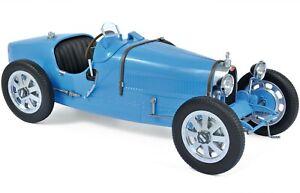 1925 BUGATTI T35 BLUE 1/12 MODEL CAR BY NOREV 125700