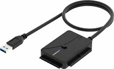 Sabrent USB 3.0 to SSD/SATA/IDE 2.5/3.5/5.25-INCH Hard Drive Converter
