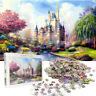 1000 Pieces Rainbow Castle Jigsaw Puzzles Assembling Educational Toy Gift