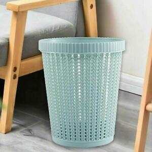 6L Plastic Recycle Bin With Bags Rubbish Dustbin Kitchen Room Garden Waste Bin