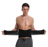 Men's Hot Neoprene Waist Belt Sweat Trainer Slimming Trimmer Belt Body Shaper US