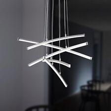 WOFI lámpara colgante LED STELLA 5 LLAMAS Cromado Plástico 24 vatios 1500 Lumen