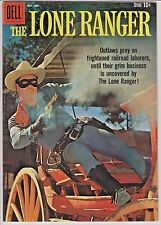 The Lone Ranger #130 (Oct-Nov 1959, Dell) VF/NM Gorgeous!