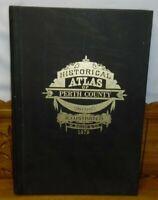 Vintage 1972 Reproduction Historical Atlas Of Perth County Ontario H Belden 1879