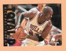 1995-96 Fleer Michael Jordan Total D Chicago Bulls