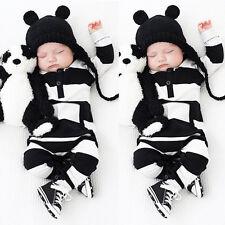 0-3Y Bebé Niña Niño Infantil Ropa Monos Trajes Recién nacido Enterizo