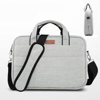 "Laptop Shoulder Bag PC Handle Cover Pouch 13""15""17"" Nylon Handbag For Macbook HP"