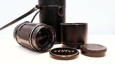 PENTAX SUPER TAKUMAR 135mm 3.5 Telephoto Lens for M42 fit with extras