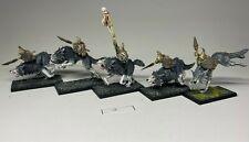 Warhammer Orcs and Goblins - Goblin Wolf Riders  x 5 - Custom Built