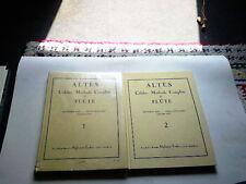 CELEBRE METHODE COMPLETE DE FLUTE EN 2 TOMES   ALTES  EDITIONS ALPHONSE LEDUC