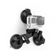 Go pro Accessories Car Holder Tri Feet Suction Cup Mount Tri Angle Suction Cup