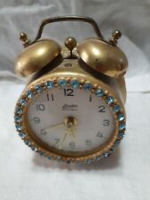 New ListingSet of 2 vintage alarm clocks, 1 made in Germany 1 made in France Non-working