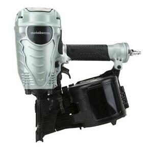 """Hitachi/Metabo HTP NV90AGSM 16-Degree Wire Collated 3-1/2"""" Coil Framing Nailer"""