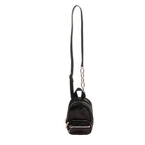 RRP€710 ALEXANDER WANG Nappa Lamb Leather Crossbody Bag HANDCRATFED Zipped