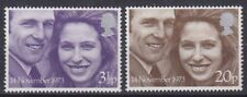 GB 1973 Royal Wedding Set SG941-942 Unmounted Mint