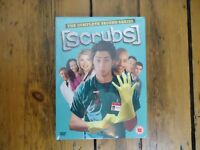 SCRUBS Complete Series 2 DVD TV Box Set Brand New Sealed - PAL - Free UK P+P