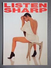 R&L Modern Postcard: Advertising Promo, Sharp Hifi Minidsic