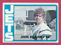 1972 Topps # 13 John Riggins -- Jets - Box 734-128