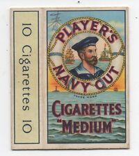 Vintage Advertising Package for Player's Navy Cut Cigarettes
