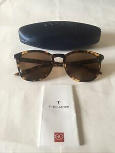 T-Charge T9051 Mens Sunglasses Colour G21 in Havana with Brown Polarized Lenses