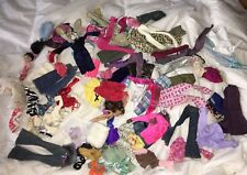 HUGE LOT OF 90 BARBIE BRATZ & SIMILAR DOLL CLOTHES - FREE SHIPPING!!