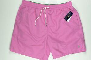 Polo Ralph Lauren Pink Swim Trunk Shorts XLT XL Tall $69