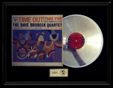 DAVE BRUBECK QUARTET TIME OUT TAKE FIVE  RARE GOLD RECORD PLATINUM DISC LP ALBUM