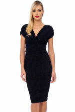 Christmas Patternless Midi Dresses for Women