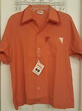 King Louie Vintage Bowling Shirt..medium.Endorsed by PBA..made in USA..new w/tag