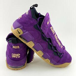 Nike Air More Money Purple Leopard Men's Size 12 Sneakers Shoes AR5401 500