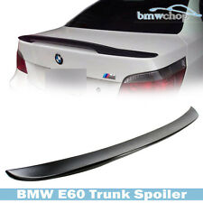 Painted BMW 5-Series E60 Sedan P-Look High Kick Rear Trunk Spoiler Wing Boot 10