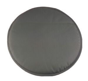 """IKEA BENO Chair Pad Outdoor Round Gray Cushion 13 3/4 """" Soft Patio Seat Topper"""