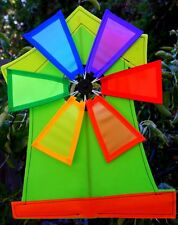 Green_Windmill Light house/Wind spinner/garden/lawn/yard/ decoration/Great gift/
