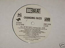 "CHANGING FACES all of my days JAY Z 12"" RECORD PROMO"