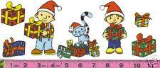 Christmas Bob the Builder Fabric Iron Ons  (style#2)!!!