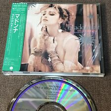 "MADONNA Like A Virgin&Other Big Hits JAPAN 4-track 5"" CD 28XD-455 w/STICKER-OBI"