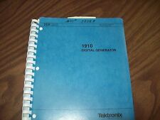 Tektronix 1910 Digital Generator Service Manual