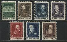 Austria Semi-Postal set of 7 unmounted mint NH