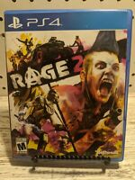Rage 2 PS4 Game (Sony PlayStation 4, 2019) PS4 Pre-owned
