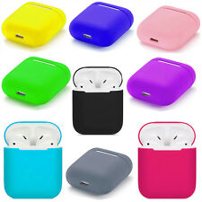 For Apple iPhone Airpod Lightweight Silicone Earphone Protective Skin Cover Case