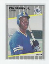 1989 Fleer Ken Griffey Jr. #548 Baseball Card