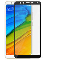Screen protector for Xiaomi Redmi 5, Tempered Glass with black edges