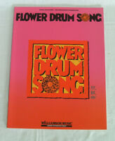 FLOWER DRUM SONG - Broadway - Songbook PVG - Hammerstein Rodgers - Piano Vocal G