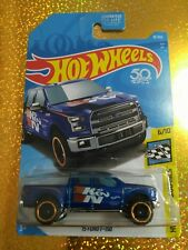 (1) 2018 Hot Wheels '15 Ford F-150 #81 HW Speed Graphics Blue
