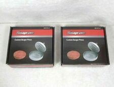 2 Snap-on Tools Custom Burger Press New in Box SSX19P113