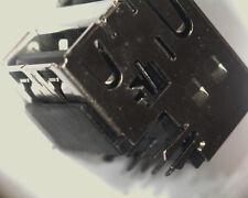 5 X doble apilados Usb A Hembra Tyco 3-1734062-2 dos sockets Offset Type