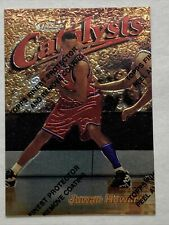 Juwan Howard 1997 Topps Finest Catalysts with Coating Card #158 Rare